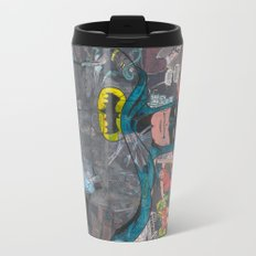 Vintage Comic Bat man Travel Mug