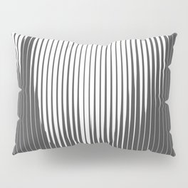 Grays Striped Pillow Sham