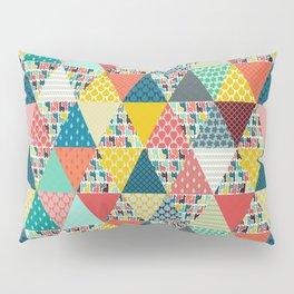 llama geo triangles Pillow Sham