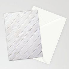 Wooden Boards Stationery Cards