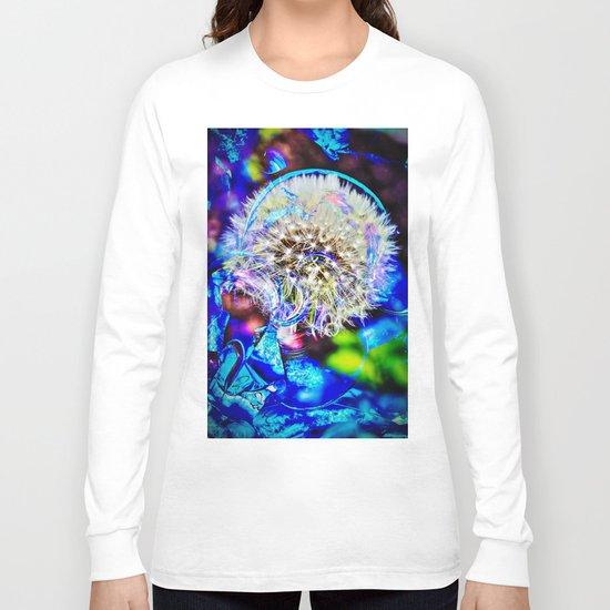 Abstract - Perfektion - Pusteblume Long Sleeve T-shirt