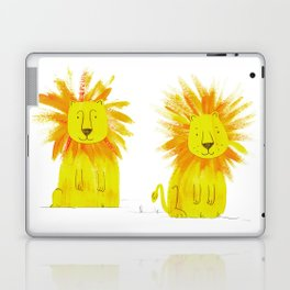 Two Lions Laptop & iPad Skin