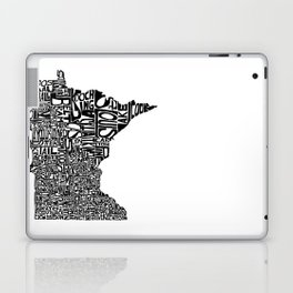 Typographic Minnesota Laptop & iPad Skin