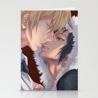 durarara Stationery Cards featuring DRRR!! by washuuchan
