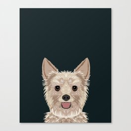 Tanner - Yorkshire Terrier gifts and gifts for dog person and dog people gift ideas Canvas Print