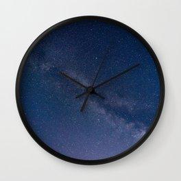 milky stars Wall Clock