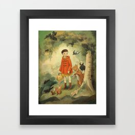Out of the Woods Framed Art Print