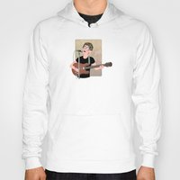 lou reed Hoodies featuring Lou Reed by Lili's Damn Fine Shop