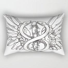 Caduceus Rectangular Pillow