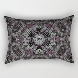 Dot Fourier Mandala 3 Rectangular Pillow