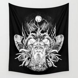Seanntaidh / BW Version Wall Tapestry