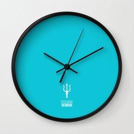 Poseidon Demigod Wall Clock
