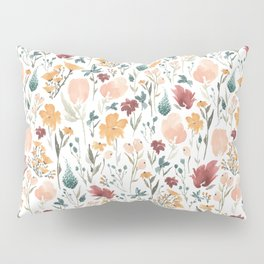 Deep Florals Pillow Sham