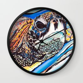 Belle des mers Wall Clock