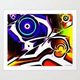 Sharpened Gaze Art Print