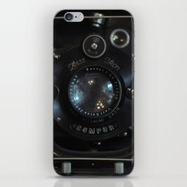 Old Camera (Zeiss Optik, Compur shutter) iPhone Skin