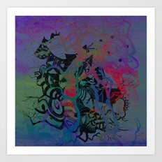 turmoil Art Print