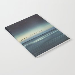 Currents - Abstract seascape Notebook