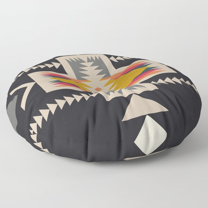 bonfire Floor Pillow