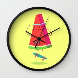 Lords of Foodtown Wall Clock