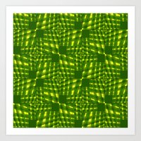 palm Art Prints featuring Palm  by dominiquelandau