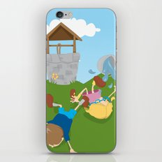 Jack & Jill iPhone & iPod Skin