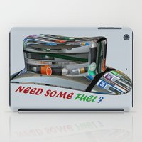 pocket fuel iPad Cases featuring Need Some Fuel ? by Avigur