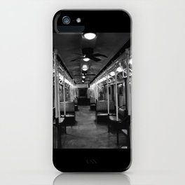 New York Subway Car #2 iPhone Case