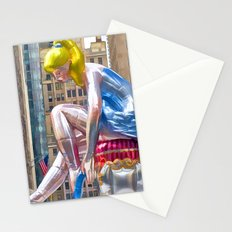 Seated Ballerina at Rockefeller Center 1 Stationery Cards