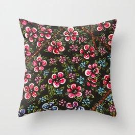 L'amour fait rougir Throw Pillow