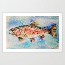 Rainbow Trout Kunstdrucke