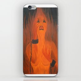 Hell Clamp iPhone Skin