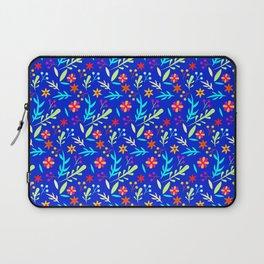 Blue Garden #illustration #pattern Laptop Sleeve