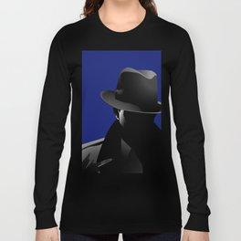 Smoking Detective Long Sleeve T-shirt