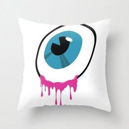 The Big Eye Throw Pillow