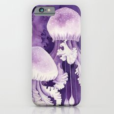 Purple Jellyfish iPhone 6s Slim Case