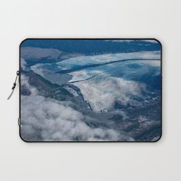 Aerial Glacier Five - Alaska Laptop Sleeve