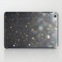 tolkien iPad Cases featuring There Can Be No Light (Ombré Glitter Abstract) by soaring anchor designs