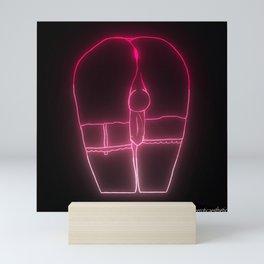 A Crossdresser Named Delilah - Neon Mini Art Print