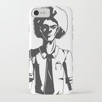 afro iPhone & iPod Cases featuring AFRO by LeoVarg
