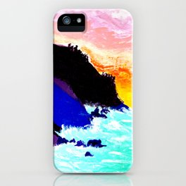 Magiic Mountains iPhone Case