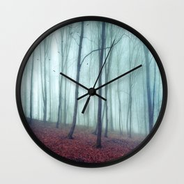 No Noize - Silent Forest Wall Clock