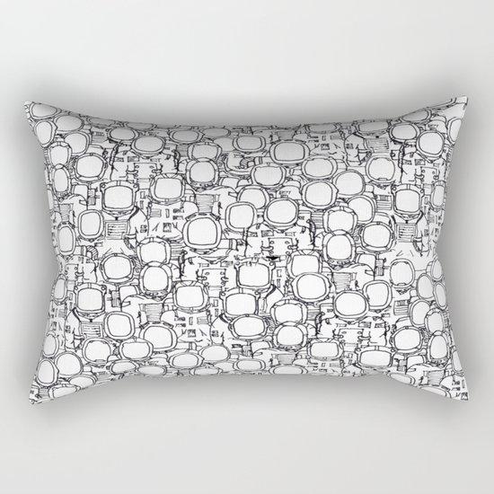 Astronauts (bunches!) Rectangular Pillow