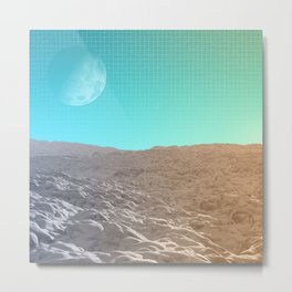 Daylight In The Desert Metal Print