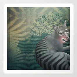 Animal kingdoom Art Print