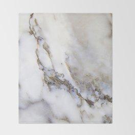 Marble ii Throw Blanket