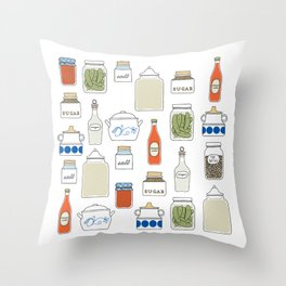 In my Pantry Throw Pillow
