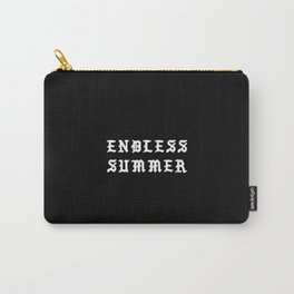 Typographic Summer Endless Hand Lettering Carry-All Pouch