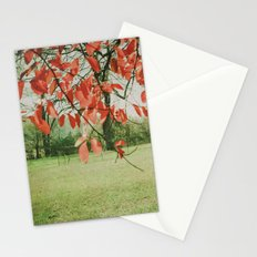 Red October Stationery Cards