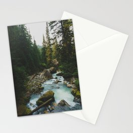 White Chuck River - Pacific Crest Trail, Washington Stationery Cards